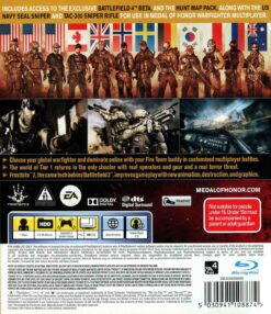 Hra Medal Of Honor: Warfighter pro PS3 Playstation 3 konzole