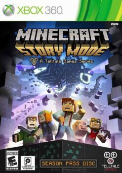 Hra Minecraft: Story Mode pro XBOX 360 X360 konzole