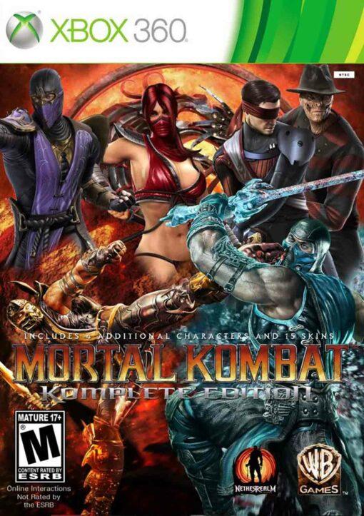 Hra Mortal Kombat Komplete Edition pro XBOX 360 X360 konzole