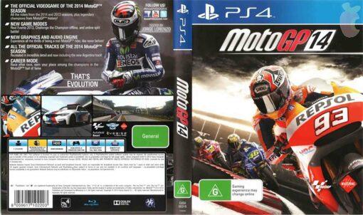 Hra Moto GP 14 pro PS4 Playstation 4 konzole