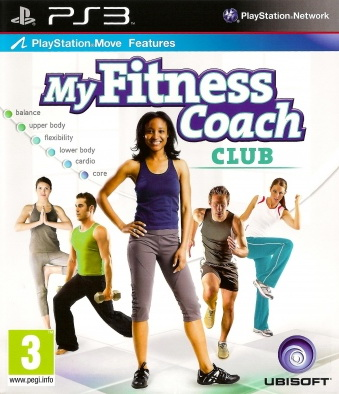 Hra My Fitness Coach Club pro PS3 Playstation 3 konzole