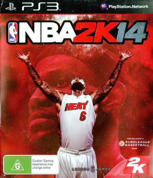 Hra NBA 2k14 pro PS3 Playstation 3 konzole