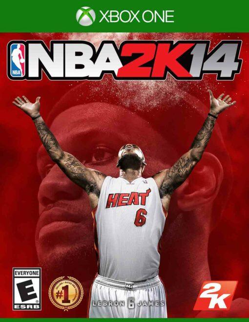 Hra NBA 2k14 pro XBOX ONE XONE X1 konzole