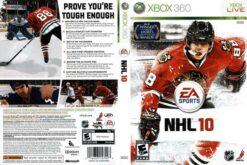Hra NHL 10 CZ pro XBOX 360 X360 konzole
