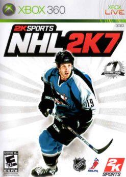 Hra NHL 2k7 pro XBOX 360 X360 konzole