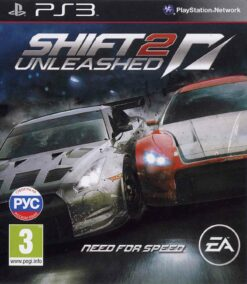 Hra Need For Speed Shift 2: Unleashed pro PS3 Playstation 3 konzole