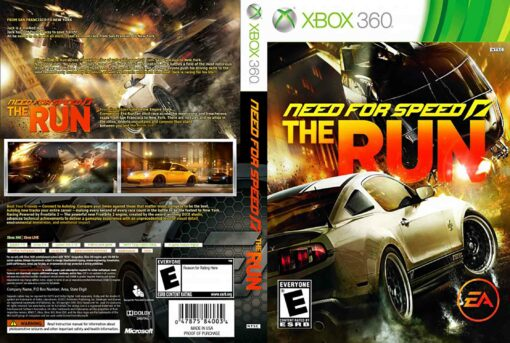 Hra Need For Speed: The Run pro XBOX 360 X360 konzole