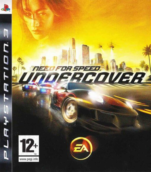 Hra Need For Speed: Undercover pro PS3 Playstation 3 konzole