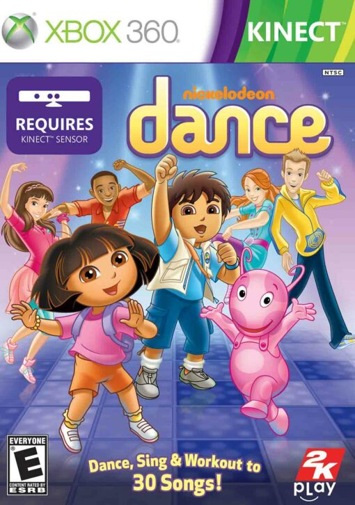 Hra Nickelodeon Dance pro XBOX 360 X360 konzole