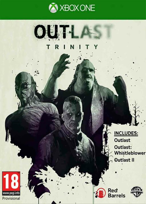 Hra Outlast Trinity pro XBOX ONE XONE X1 konzole
