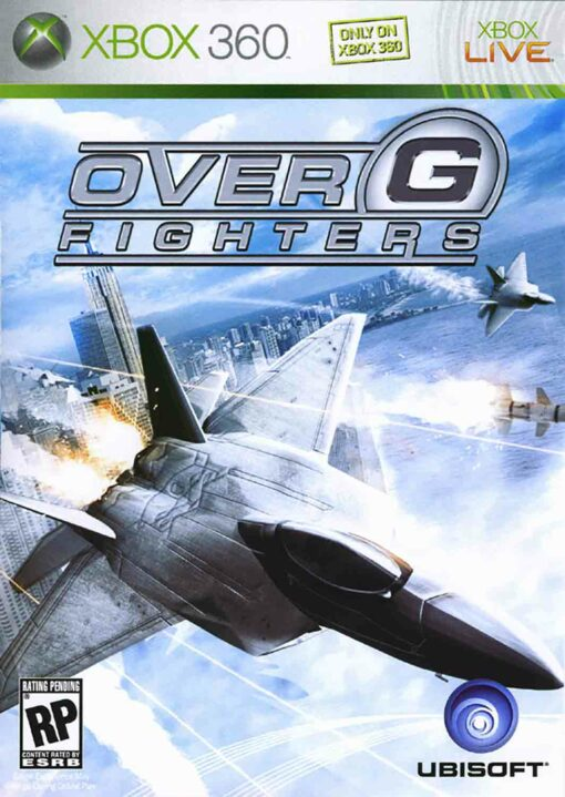 Hra Over G Fighters pro XBOX 360 X360 konzole