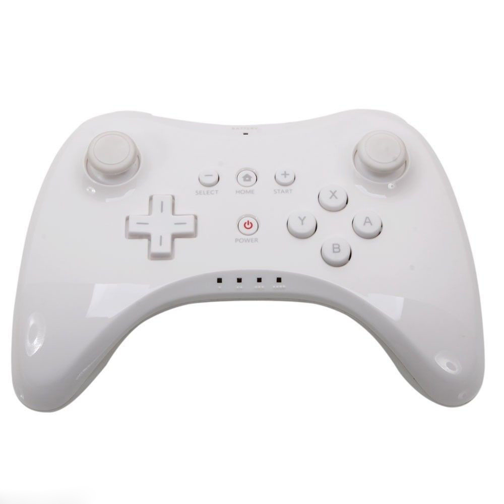 Ovladač Wii U Pro Controller gamepad - bílý
