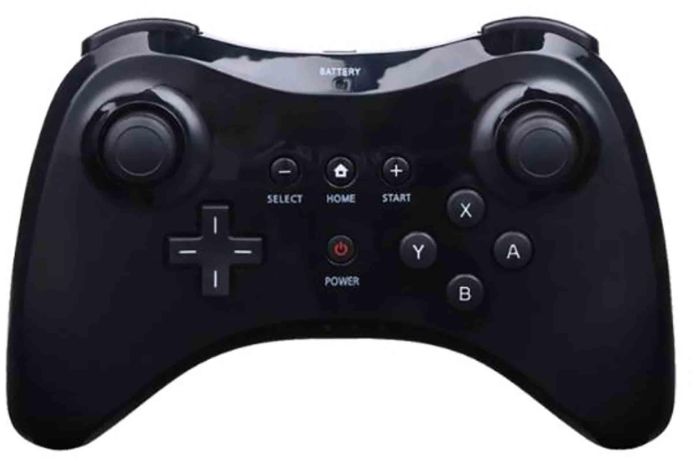 Ovladač Wii U Pro Controller gamepad - černý