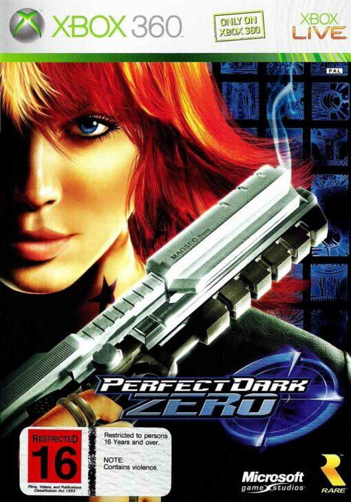 Hra Perfect Dark Zero pro XBOX 360 X360 konzole