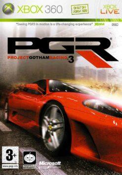 Hra Project Gotham Racing 3 pro XBOX 360 X360 konzole