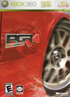Hra Project Gotham Racing 4 pro XBOX 360 X360 konzole