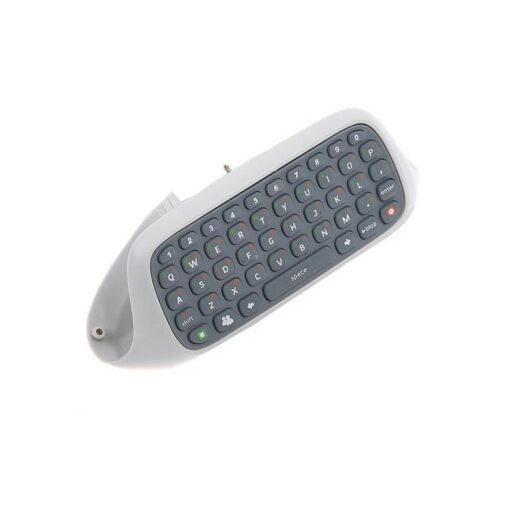 QWERTY klávesnice pro XBOX 360 - Chatpad - Bílý příslušenství