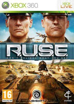 Hra R.U.S.E. pro XBOX 360 X360 konzole