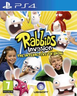 Hra Rabbids Invasion: The Interactive TV Show pro PS4 Playstation 4 konzole