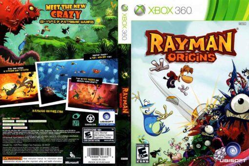 Hra Rayman Origins pro XBOX 360 X360 konzole