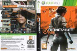 Hra Remember Me pro XBOX 360 X360 konzole