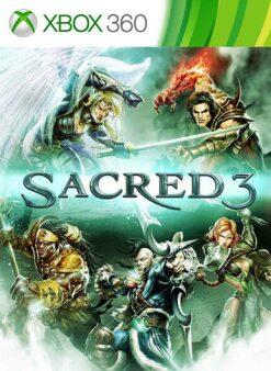 Hra Sacred 3 pro XBOX 360 X360 konzole