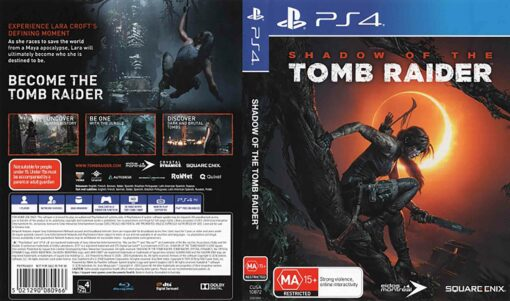 Hra Shadow Of The Tomb Raider pro PS4 Playstation 4 konzole