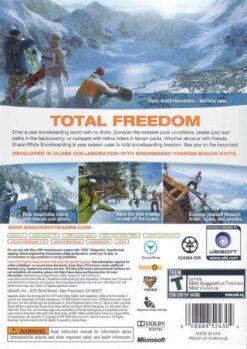 Hra Shaun White Snowboarding pro XBOX 360 X360 konzole