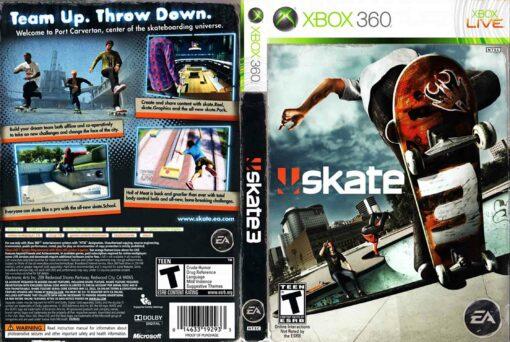 Hra Skate 3 pro XBOX 360 X360 konzole
