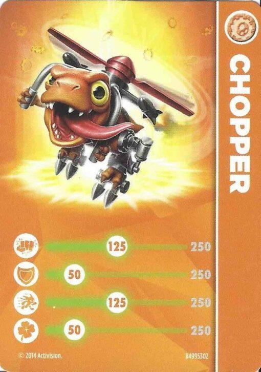 Skylanders figurka Chopper příslušenství