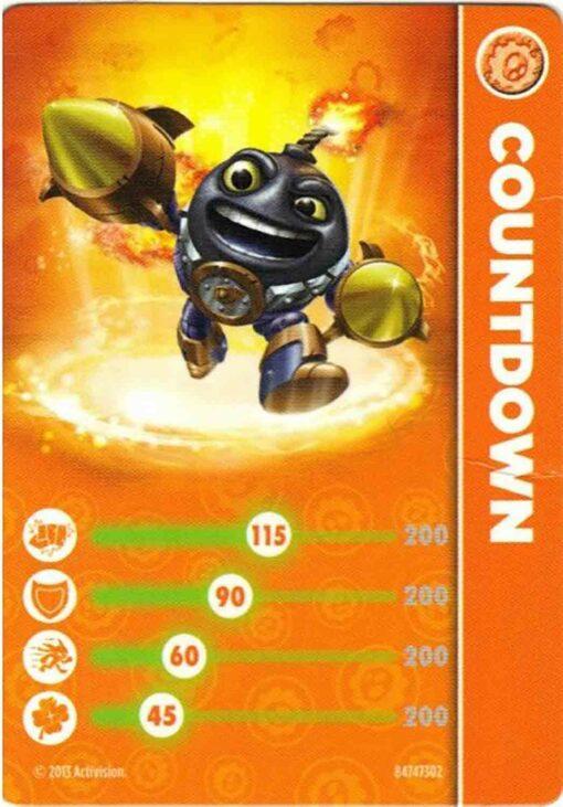 Skylanders figurka Countdown příslušenství