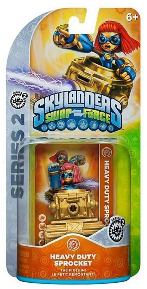 Skylanders figurka Heavy Duty Sprocket příslušenství