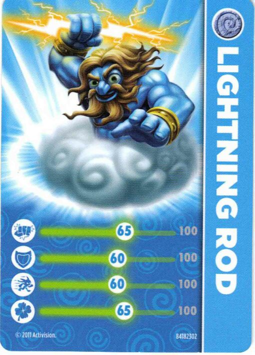 Skylanders figurka Lightning Rod příslušenství