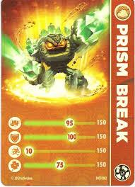 Skylanders figurka Prism Break příslušenství