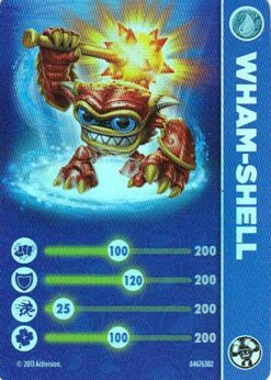 Skylanders figurka Wham-Shell příslušenství