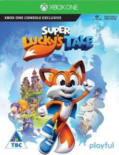 Hra Super Lucky's Tale pro XBOX ONE XONE X1 konzole
