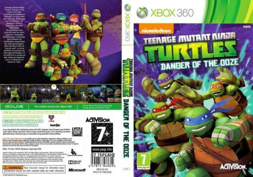 Hra Teenage Mutant Ninja Turtles: Danger of the Ooze pro XBOX 360 X360 konzole