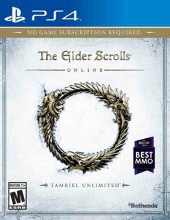 Hra The Elder Scrolls Online (Tamriel unlimited edition) pro PS4 Playstation 4 konzole