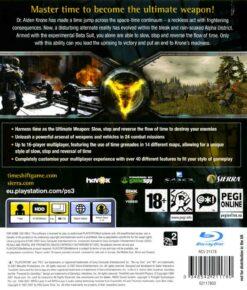 Hra Timeshift pro PS3 Playstation 3 konzole