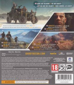 Hra Tom Clancy's Ghost Recon Wildlands pro XBOX ONE XONE X1 konzole