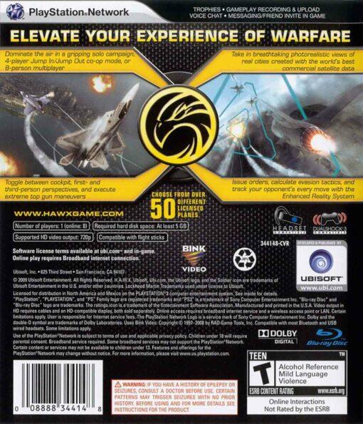 Hra Tom Clancy's H.A.W.X. pro PS3 Playstation 3 konzole