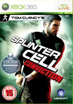 Hra Tom Clancy's Splinter Cell: Conviction pro XBOX 360 X360 konzole