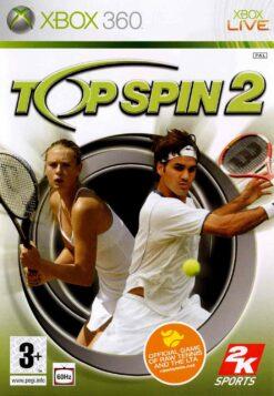 Hra Top Spin 2 pro XBOX 360 X360 konzole
