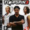Hra Top Spin 3 pro PS3 Playstation 3 konzole