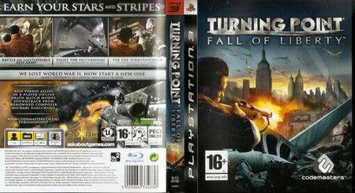 Hra Turning Point: Fall Of Liberty pro PS3 Playstation 3 konzole