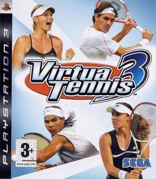 Hra Virtua Tennis 3 pro PS3 Playstation 3 konzole