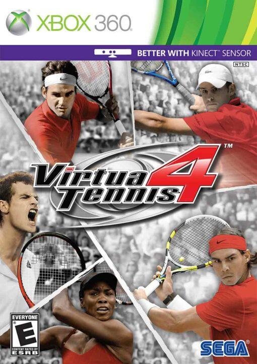 Hra Virtua Tennis 4 pro XBOX 360 X360 konzole