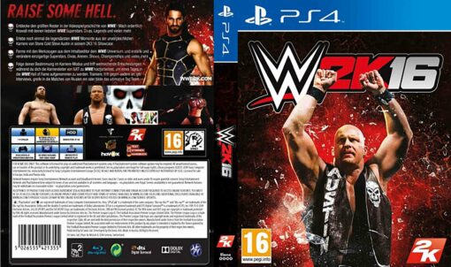 Hra WWE 2k16 pro PS4 Playstation 4 konzole