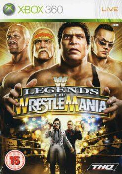 Hra WWE Legends Of Wrestlemania pro XBOX 360 X360 konzole