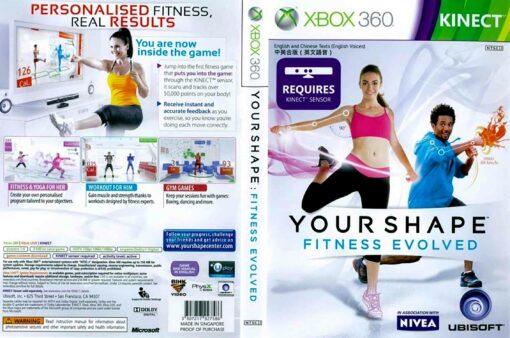 Hra Your Shape Fitness Evolved pro XBOX 360 X360 konzole